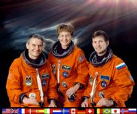 International Space Station Expedition 5 Official Crew Photograph